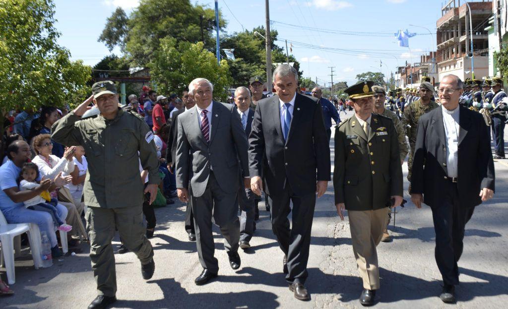 Gerardo Morales participó de la celebración patronal de Perico en honor a San José.