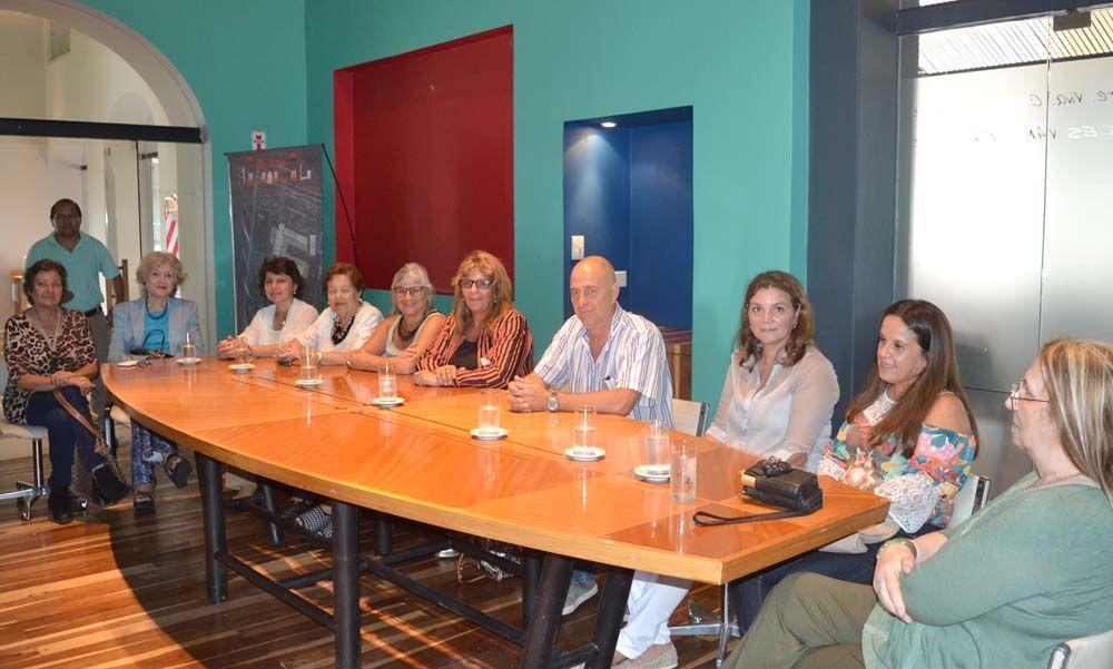 Comisión de Mujeres con Secretaria de DD.HH.