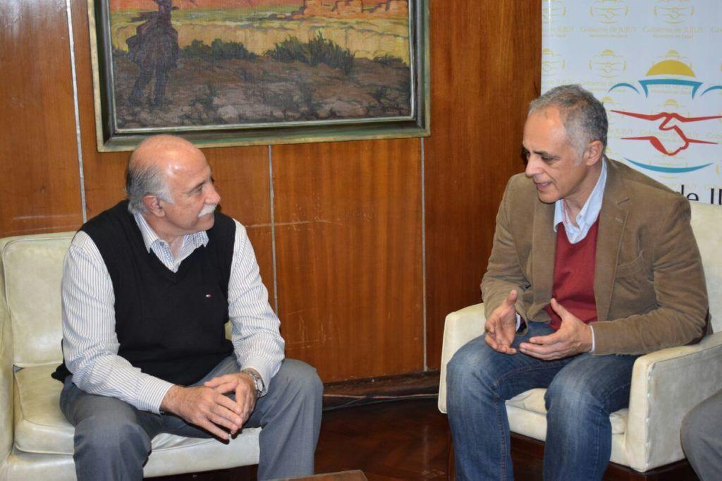 Salud de Unicef, Fernando Zigman visitó al Ministro Fiad