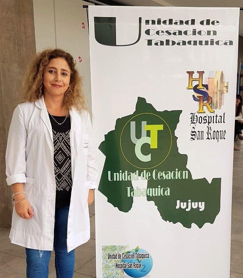 Dra. Ana Otero, referente de la Unidad de Cesación Tabáquica del Hospital San Roque