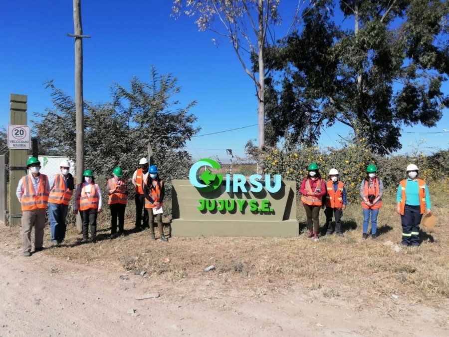 Visita y recorrido por el Centro Ambiental Jujuy