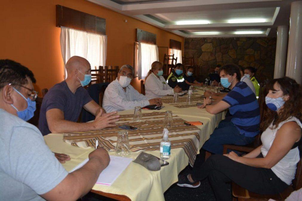 Seguridad y Tilcara planifican acciones frente al turismo