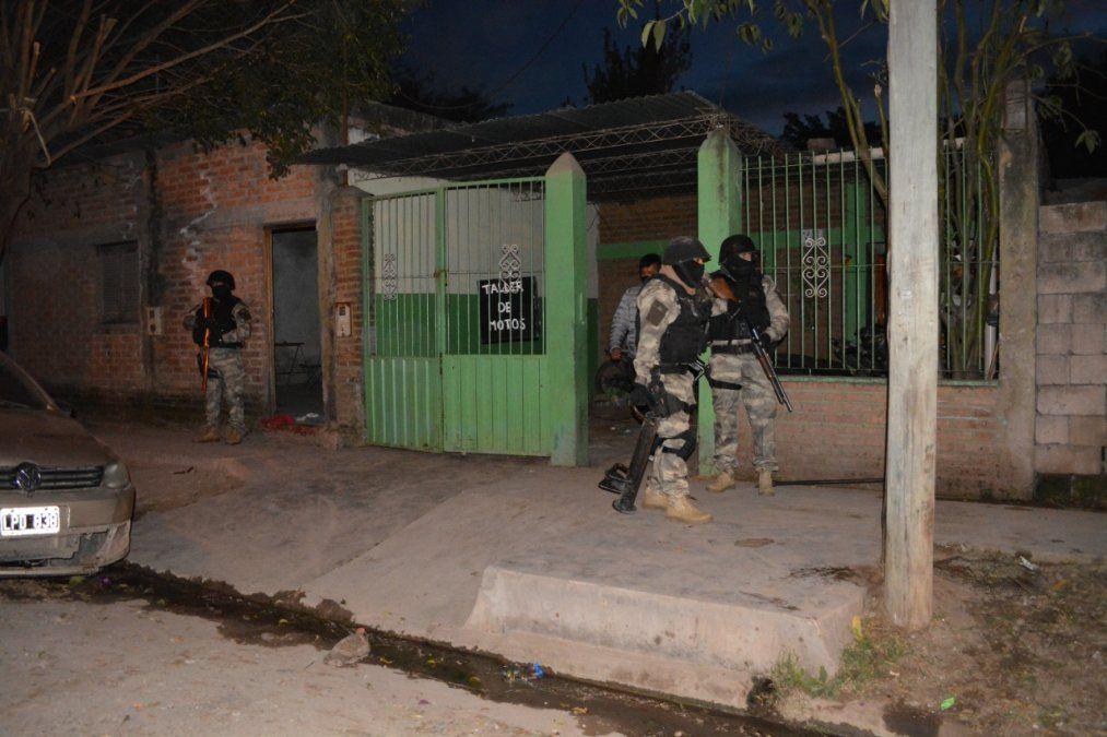 Importante operativo de allanamiento para esclarecer hechos delictivos en Libertador Gral. San Martín