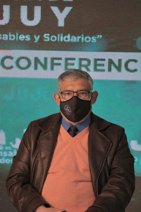 Ministro de Seguridad, Guillermo Corro