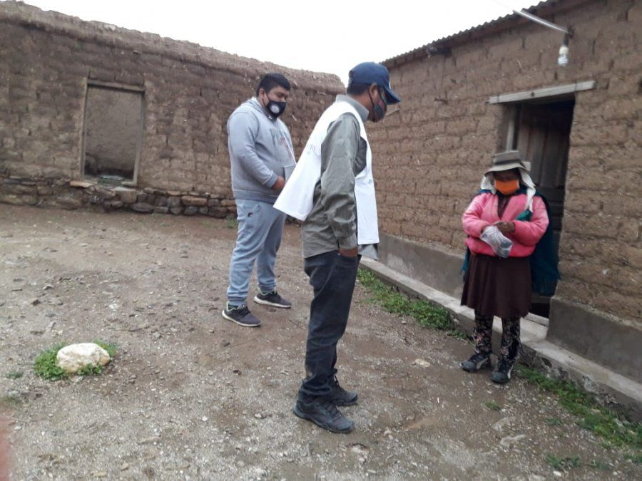 Operativo Puna Norte 1: Familias de las Comunidades de Pueblo Kolla y Quechua reciben la asistencia del estado