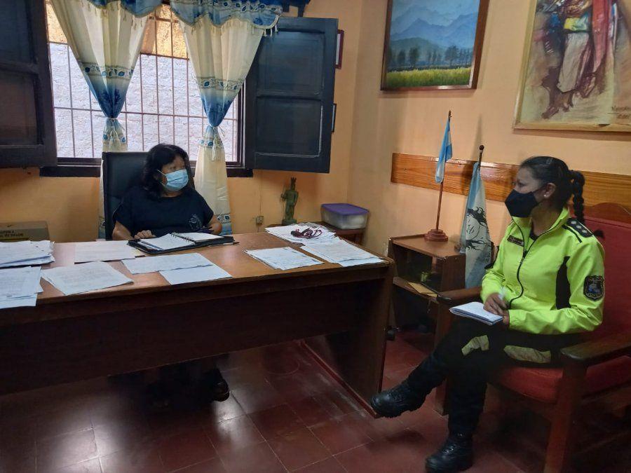 Policía turística: Planifican acciones de asistencia en las Yungas.