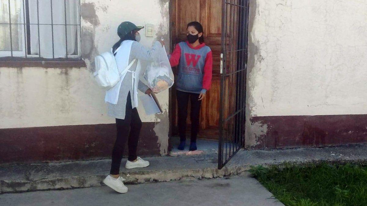 Ayuda nutricional a más familias del Barrio Tupac