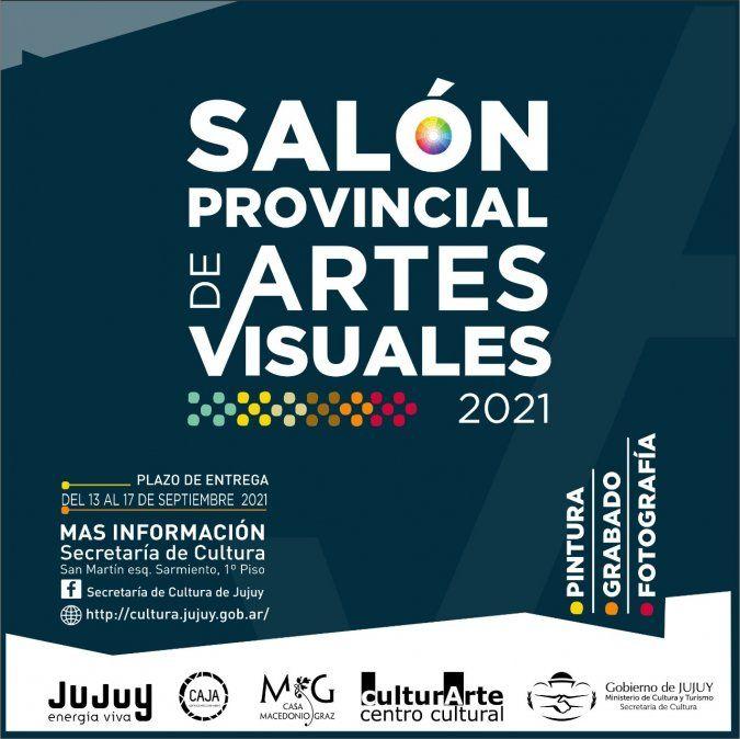 Inscripciones abiertas al Salón Provincial de Artes Visuales
