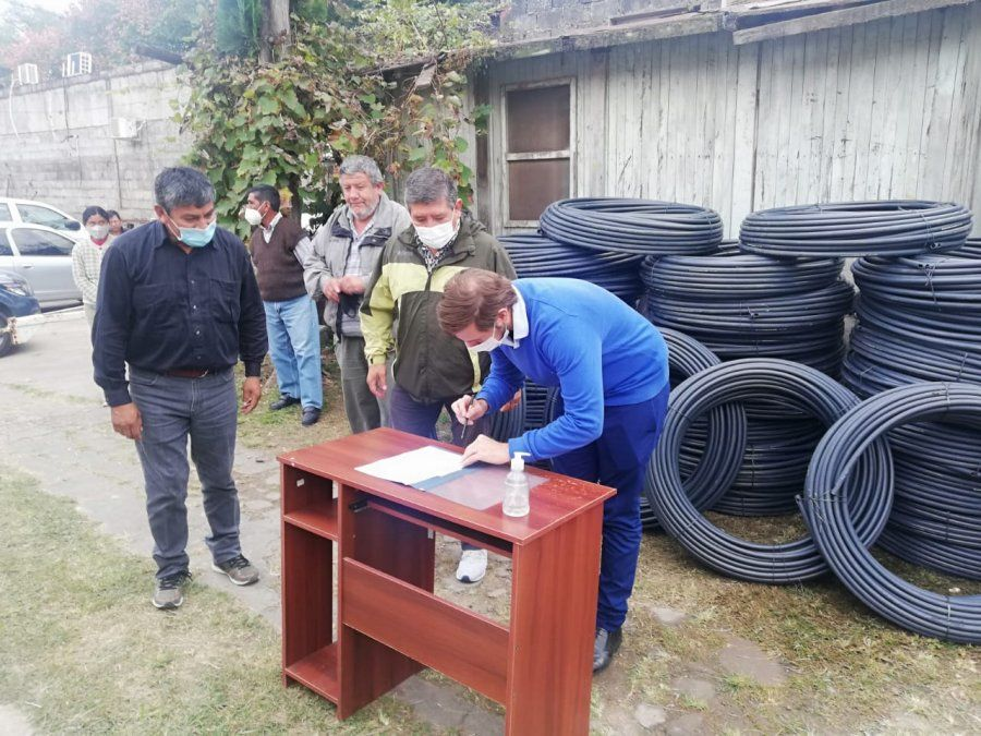 Más comunidades de la puna acceden al agua para ganadería
