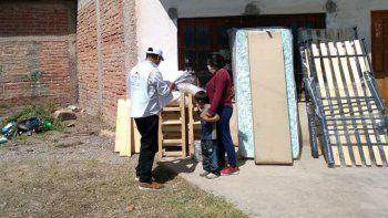 Ayuda social a familia de Perico por incendio en su vivienda