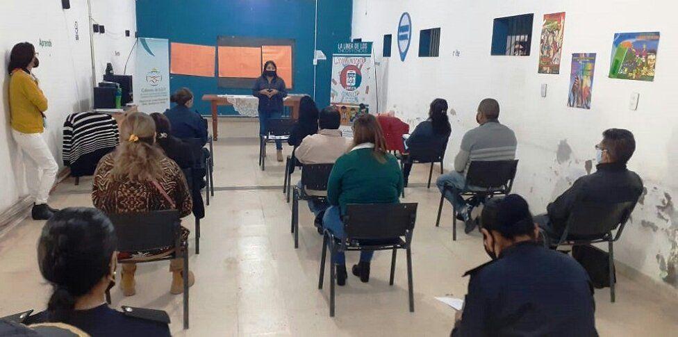 Reuniones con Consejos Locales de Niñez de Yuto y Libertador General San Martin