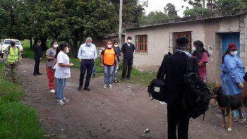 Relevamientos sociales durante el rastrillaje sanitario en Alto Comedero