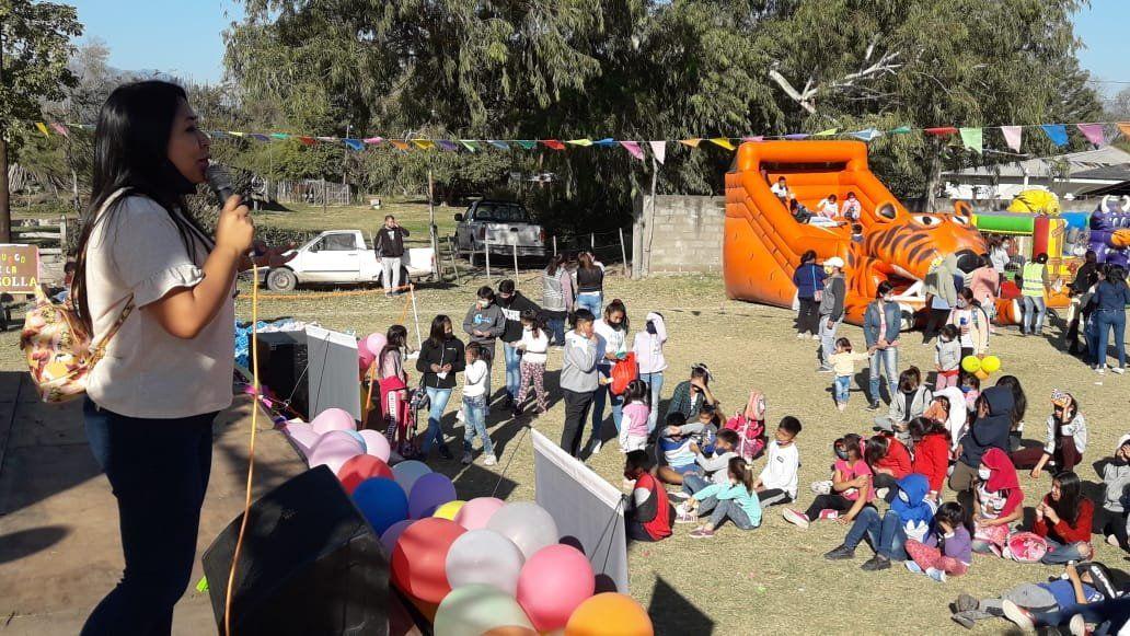 Agosto Cultural junto a la Niñez inició en Rodeito