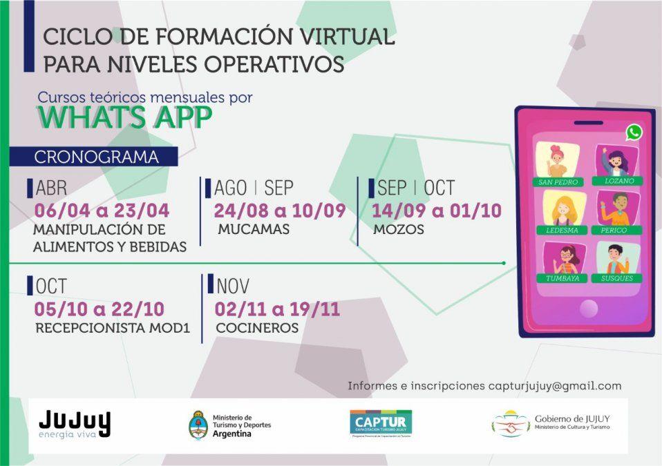 Inicia el Ciclo de formación virtual para niveles operativos