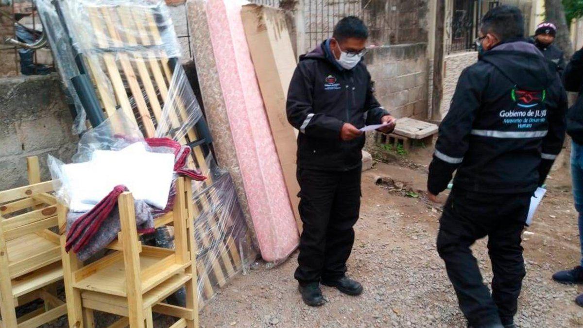 Ayuda social a familias de Aguas Calientes y San Pedro por incendio en sus viviendas