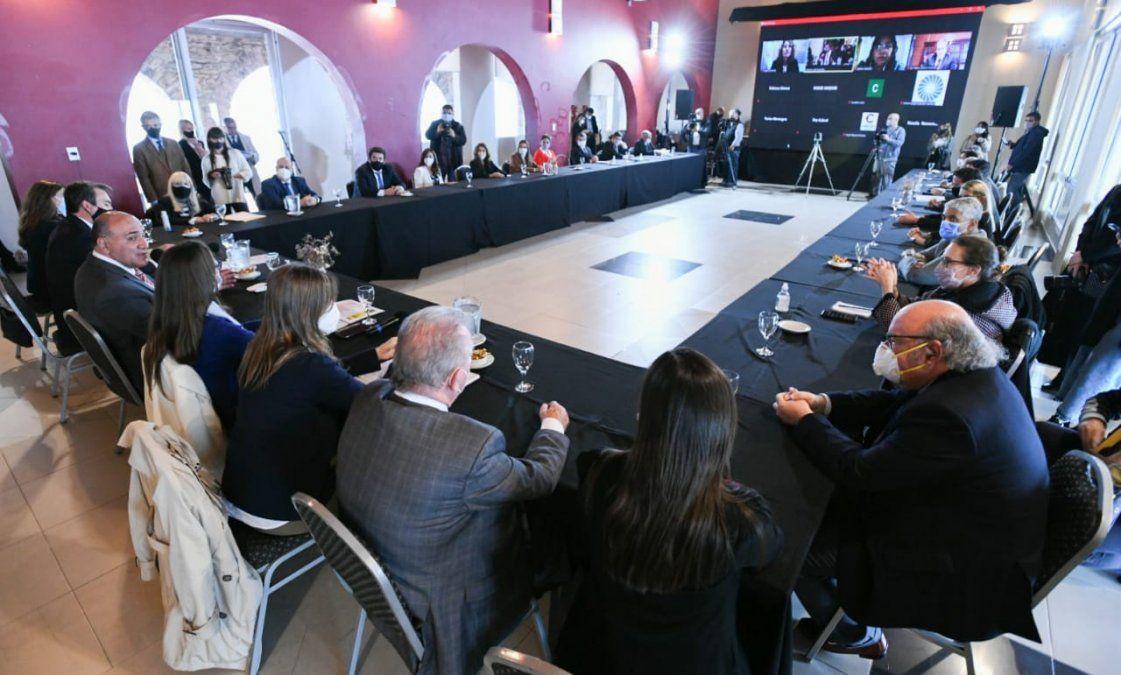 El ministro Corro participó del primer plenario del Consejo Federal de Prevención de Femicidios