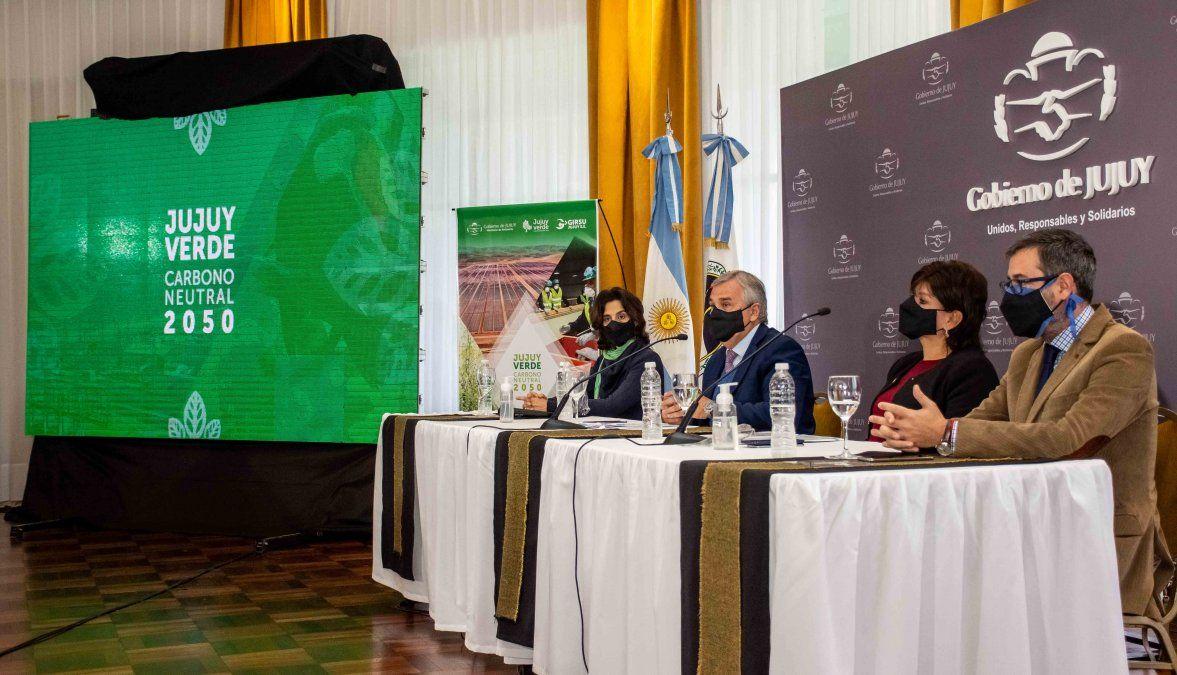 Se presentó el programa Jujuy Verde: Carbono Neutral 2050