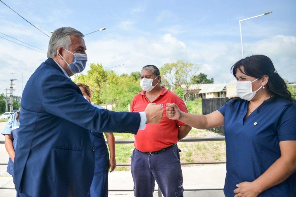 Morales inauguró el moderno Centro Regional de Hemoterapia