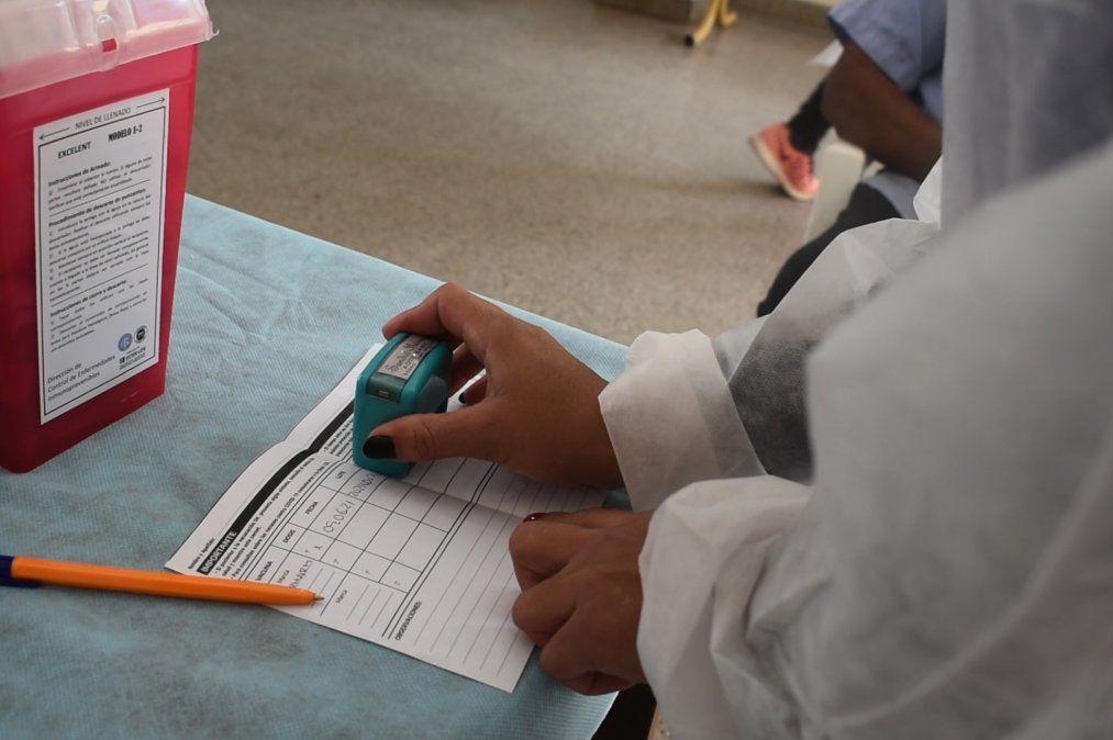 Jujuy comienza la vacunación a personas de 30 años de edad en adelante
