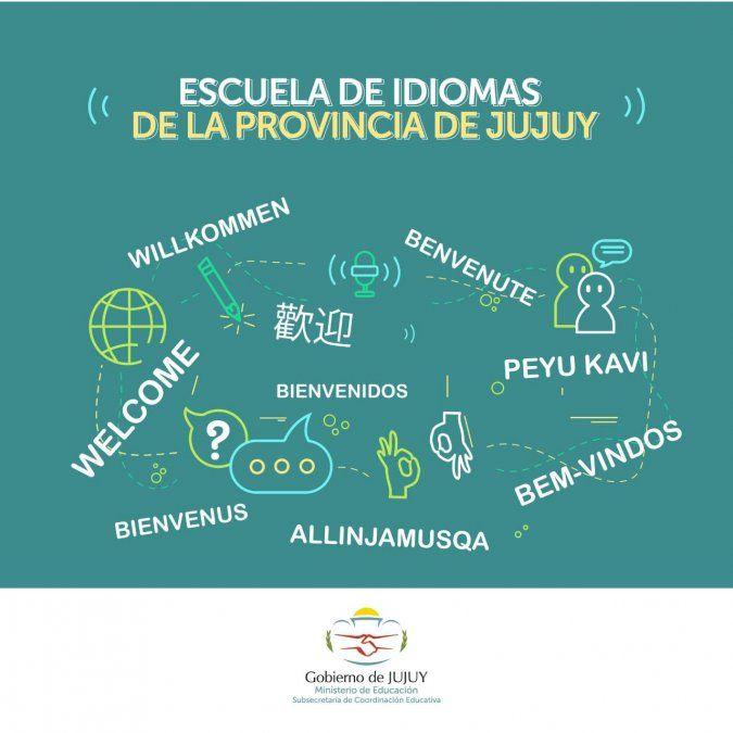 Inscripción para la Escuela de Idiomas