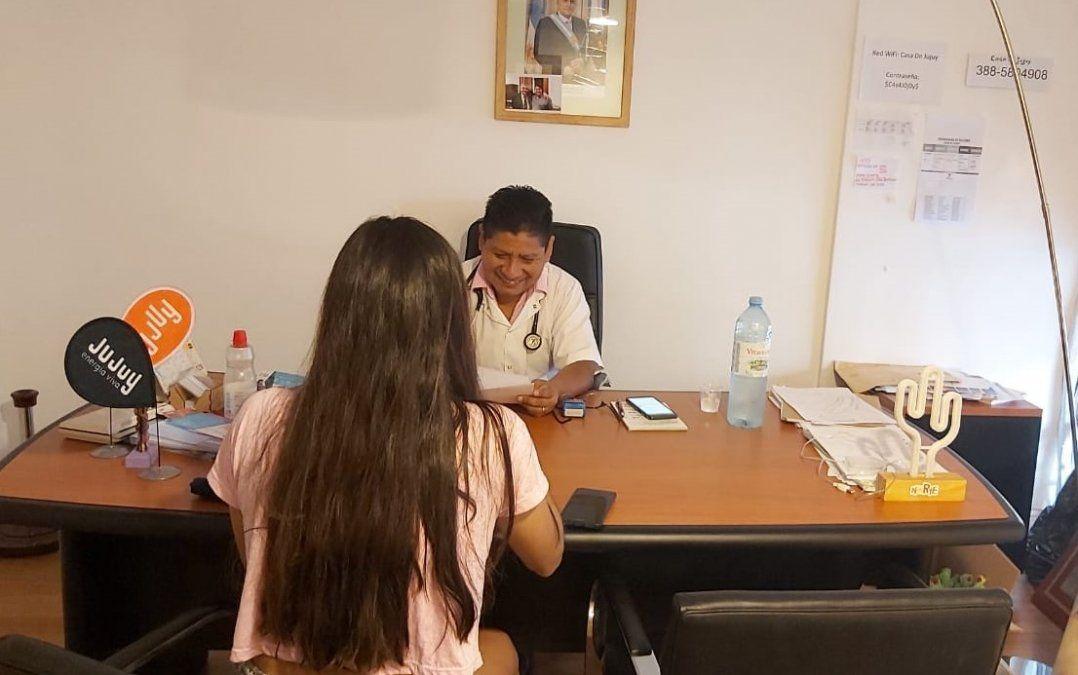 Se realizó el apto físico a jujeños adheridos a Casa de Jujuy en Córdoba