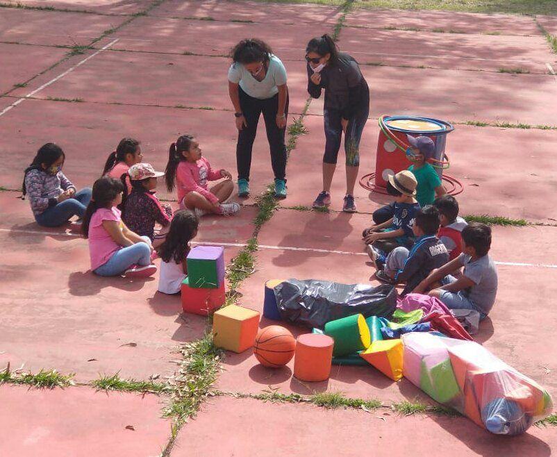 Actividades del Programa Verano Inclusivo