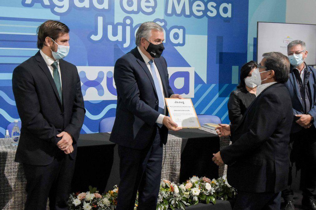 """""""Xuma Aguas de Jujuy"""" con Sello Distintivo"""