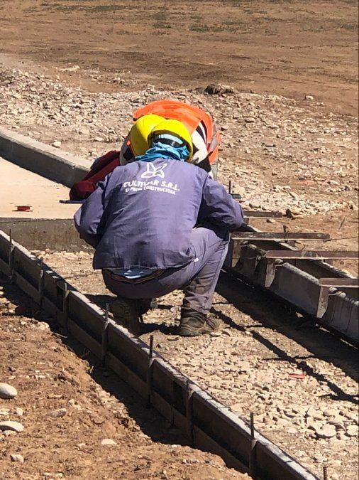 El avance de obras de la zona franca de Perico es superior al previsto