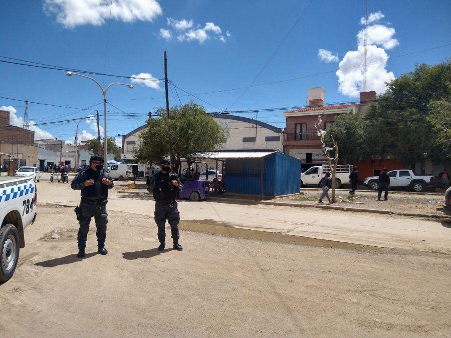 La Quiaca: Continúa el amplio operativo de prevención Covid-19