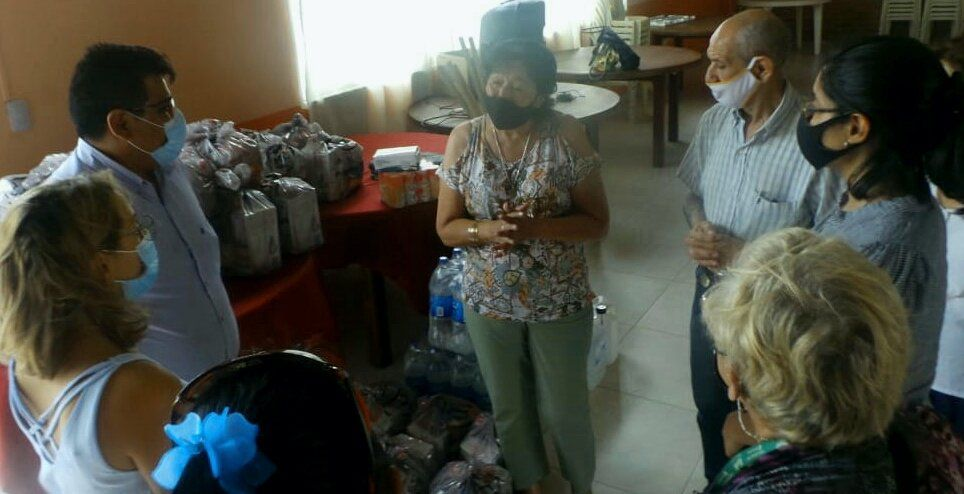 Asistencia y contención a Centro de Jubilados de San Pedro