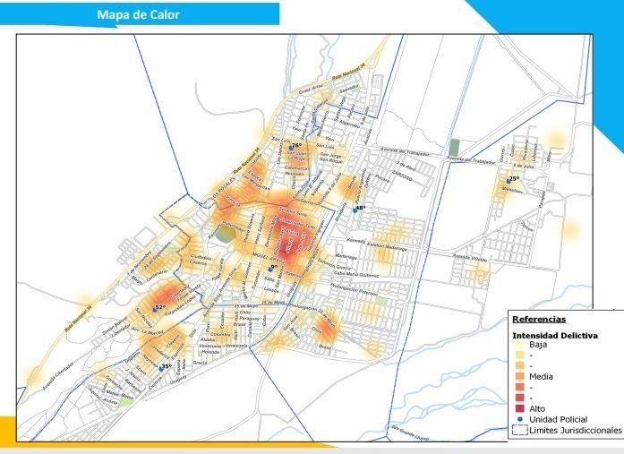 Despliegue de servicio de seguridad y prevención en zonas rojas