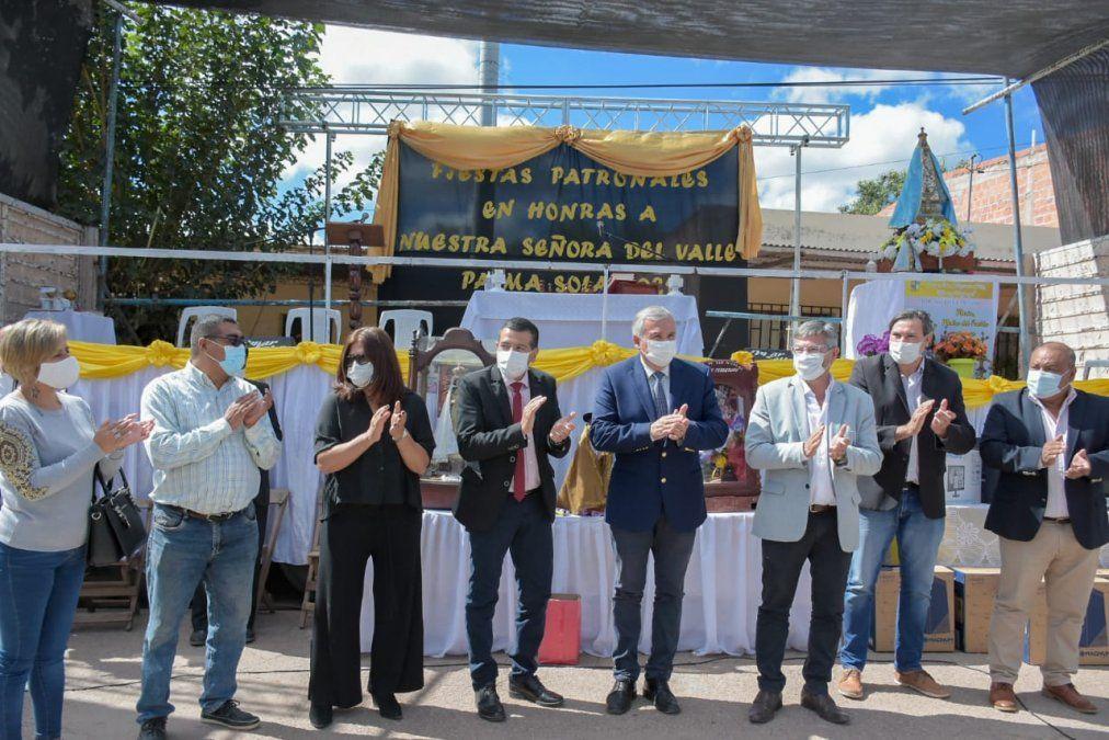 Palma Sola: Fiesta Patronal, inauguración de obras y entrega de equipamiento