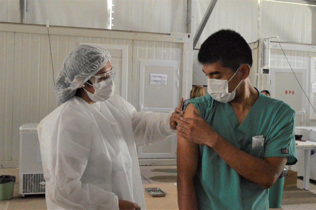 Con 6000 nuevas dosis se reanuda la vacunación en Jujuy