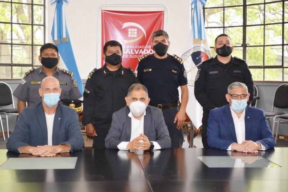 Se refuerzan los lazos entre la Policía y la Municipalidad de Capital