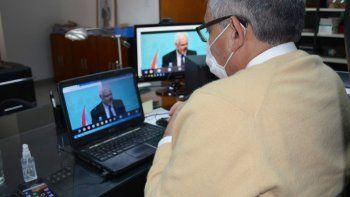 El Ministro Corro participó de la reunión del Consejo de Seguridad Interior
