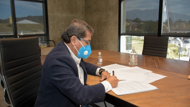 Libertador y Calilegua: firmaron acuerdo para licitar obras de saneamiento