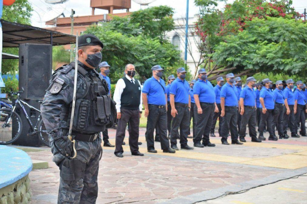 Ministerio de Seguridad apoya funcionamiento de Guardia Urbana Municipal