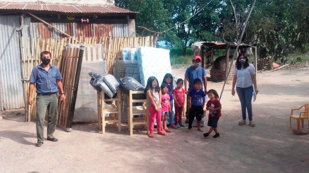 Asistencia a Familias identificadas en trabajo de OPD