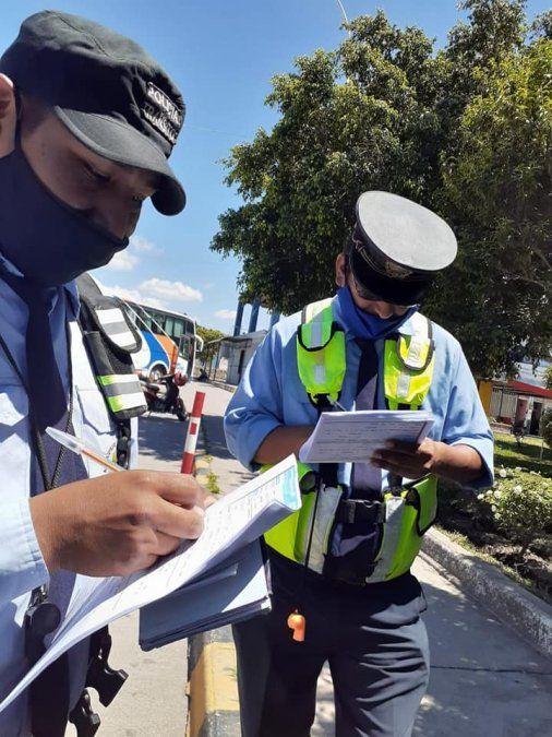 La capacitación estuvo dirigida al personal administrativo y a los agentes de tránsito municipal de Perico.