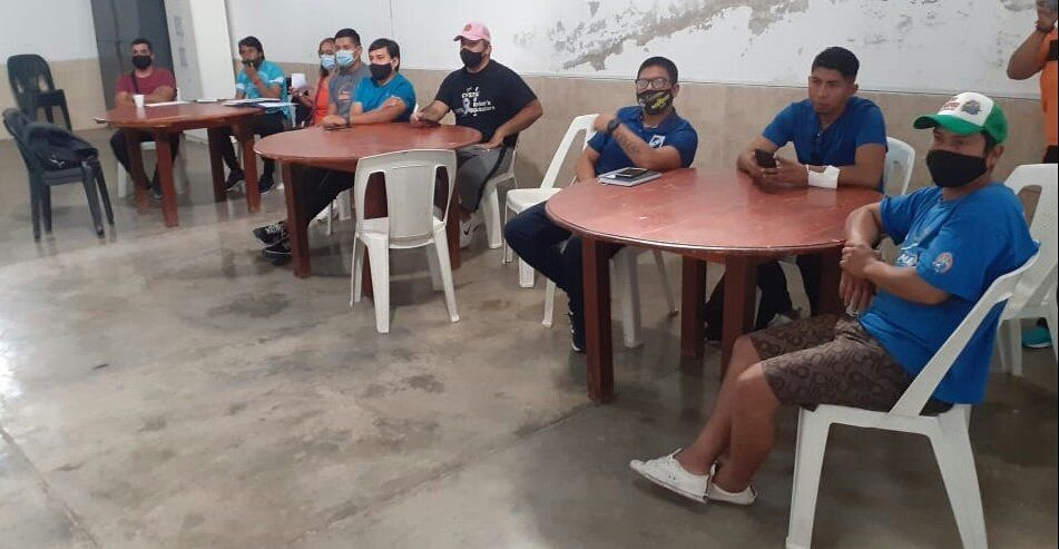 Se concretó reunión con Autoridades Deportivas de los Valles en Monterrico