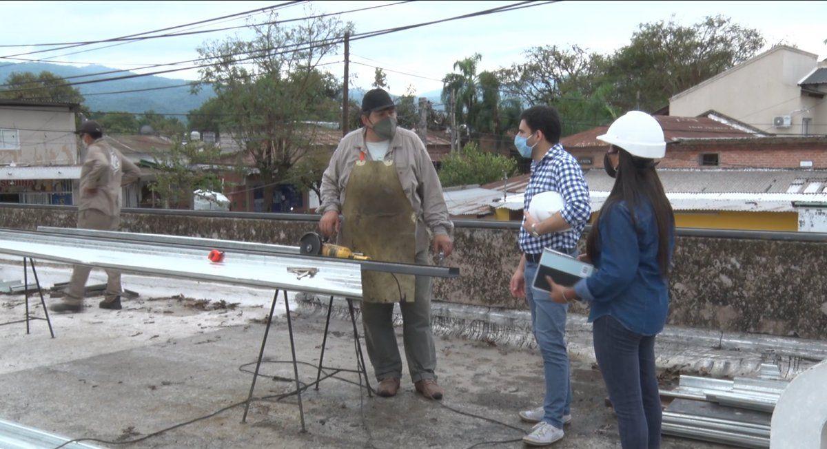 Las obras en el Orías avanzan al tiempo que también la configuración del pleigo para licitar la construccioón de un nuevo Hospital para LGSM.