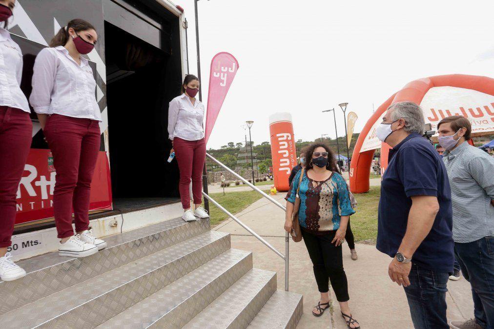 Exitosa presentación del tráiler turístico con la Experiencia 360°