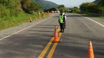 Ruta Nacional N° 9: transitar con mucha precaución