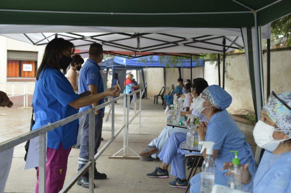 Exitosas jornadas de vacunación en el interior contra el COVID-19