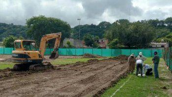 Avanza sostenidamente la construcción del Secundario N° 39 en Campo Verde