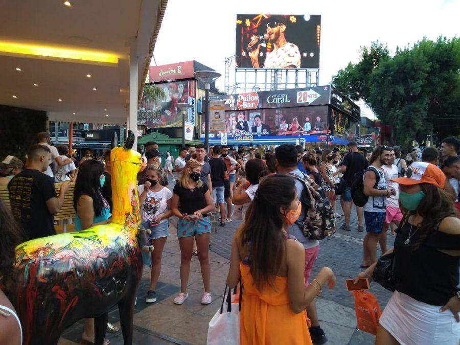Las actividades de promoción se desarrollaron en la peatonal de la Carlos Paz y en el Paseo de los Artesano