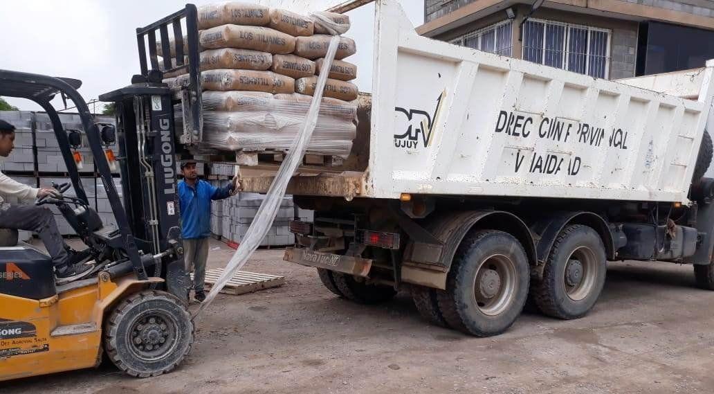 Caspalá: materiales y capacitación para obras en viviendas