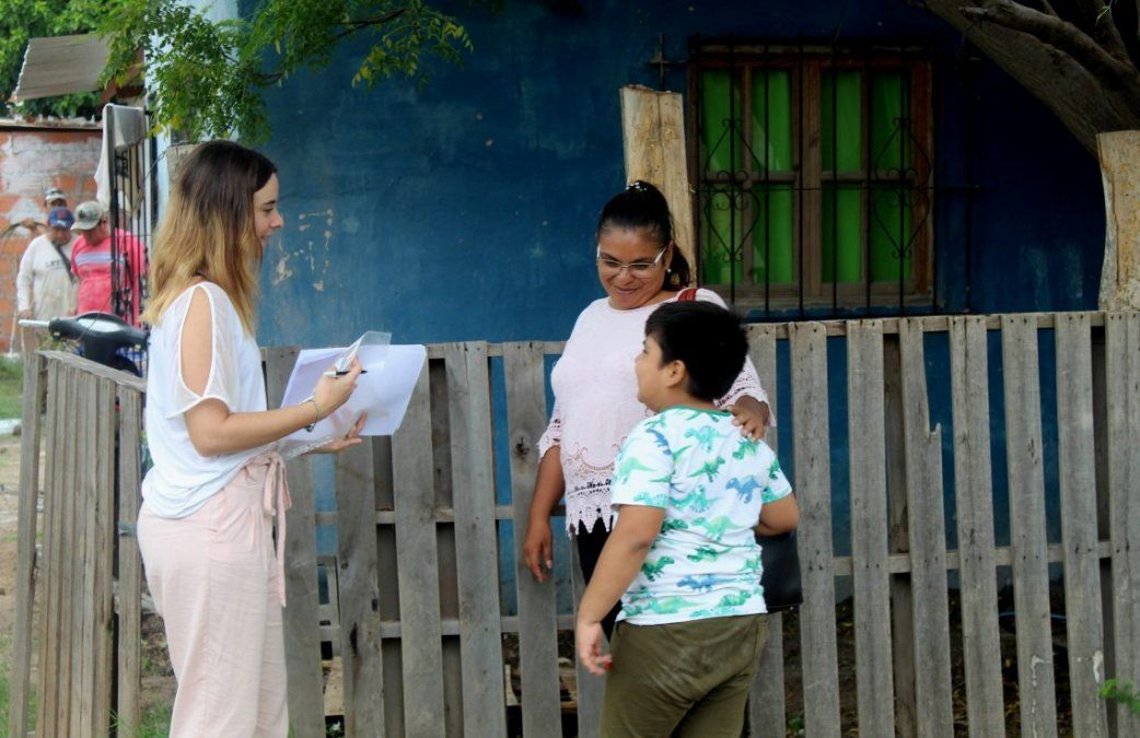 Familias que requieren hogares adaptados recibieron mejora y materiales