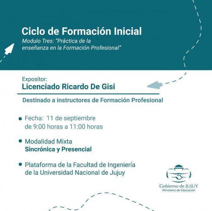 Módulo Tres del Ciclo de Formación Inicial para instructores de Formación Profesional