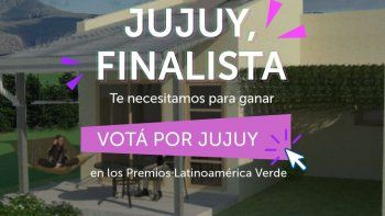 Para votar por Jujuy, hay que ingresar al enlace: https://premiosverdes.org/favoritodelpublico/paises/.